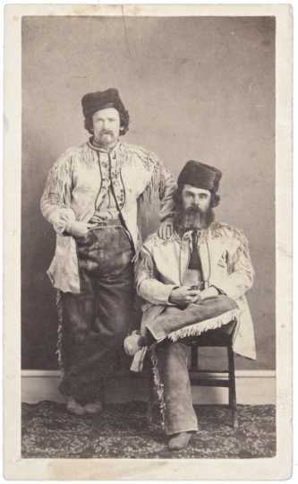 Two fur traders