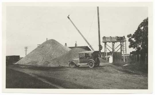 Construction of Jefferson Highway
