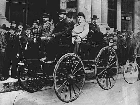 One of the first automobiles used in Minnesota