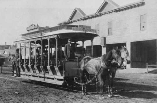 Horsecars Of The St Paul And Minneapolis Street Railway