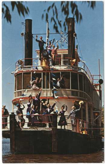 Minnesota Centennial Showboat and performers
