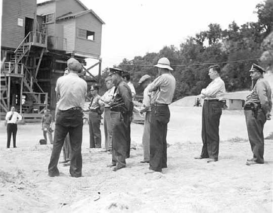 Strike at the WPA gravel pit project