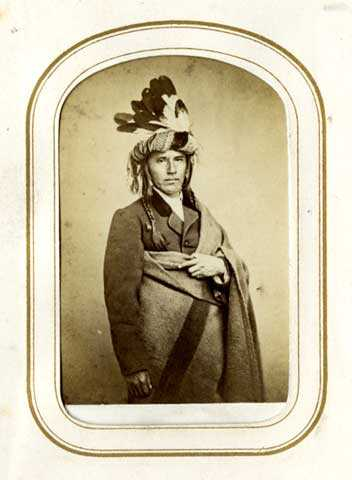 Hole in the Day, an Ojibwe leader