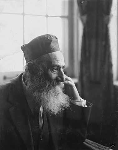 Black and white photograph of a man in the Jewish Home for the Aged, St. Paul, c.1925.