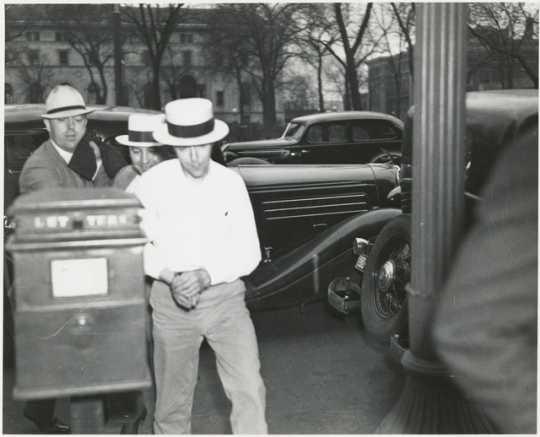 Alvin Karpis in St. Paul, 1936