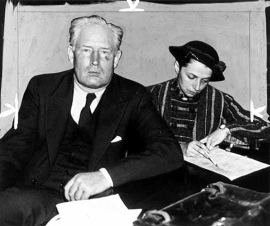 Walter W. Liggett and his wife