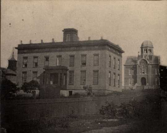 Hamline University, Red Wing, c.1863.