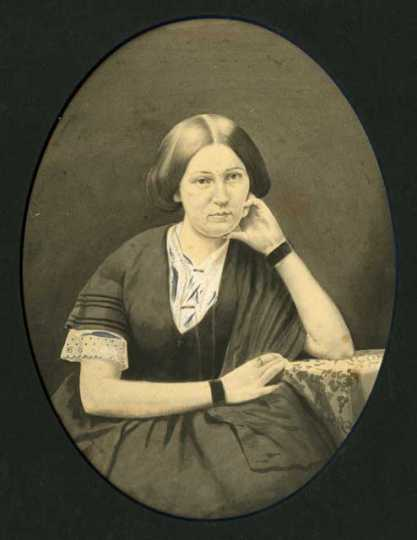 Emily R. Sorin Meredith (Mrs. Frederick Allison) of Fort Lupton, Colorado. 1859 graduate of Hamline University at Red Wing.