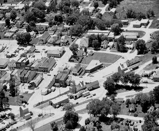Aerial View of Harmony, 1972