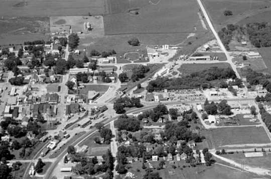 Aerial View of Harmony, 1973