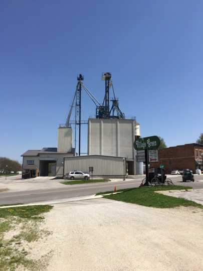 Harmony Agri Services grain processing and storage facility