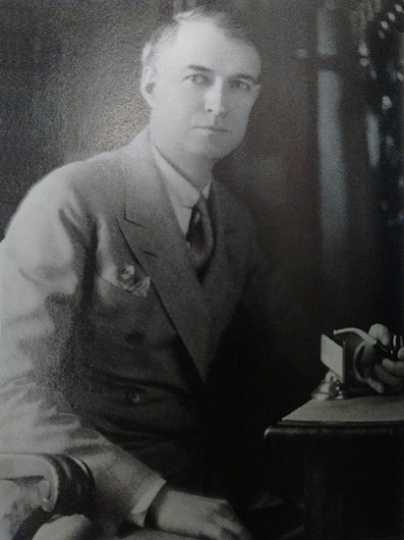 Formal portrait of Charles Hausler