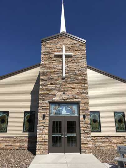 Henrytown Lutheran Church Entrance