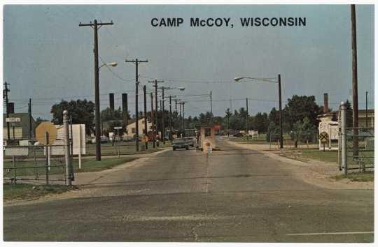 Camp McCoy, Wisconsin