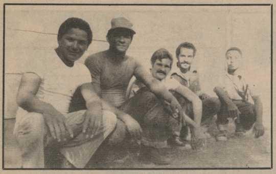 Cuban refugees at Fort McCoy