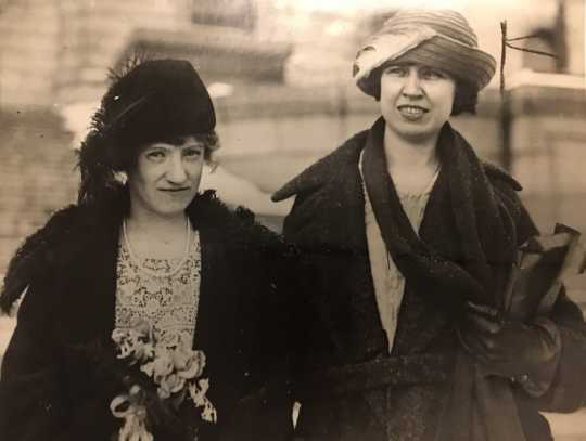 Sue M. Dickey Hough and Myrtle Cain