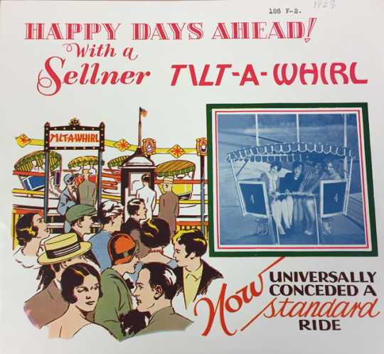 Tilt-A-Whirl advertising brochure