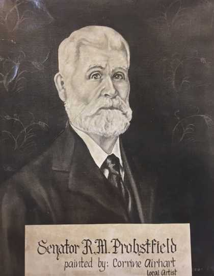 Painting of Randolph Probstfield