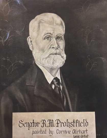 Painting of Randolph Probstfield