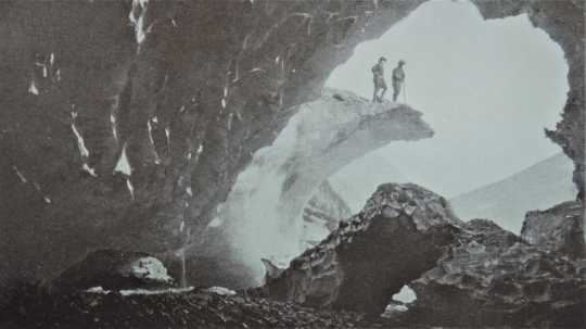 Photograph of Ice Cave at Starbird Glacier