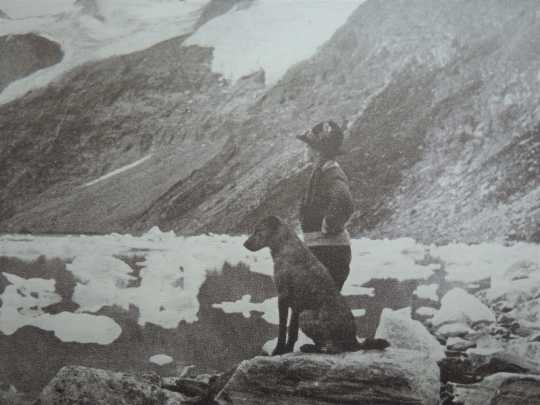 Photograph of Cora Johnstone Best at Lake of the Hanging Glaciers