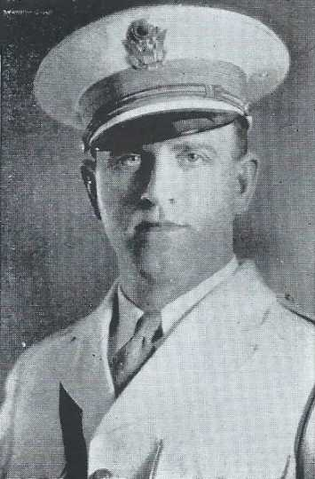 Black and white photograph of Theodore W. Thorson as pictured in Central High School yearbook, 1937.