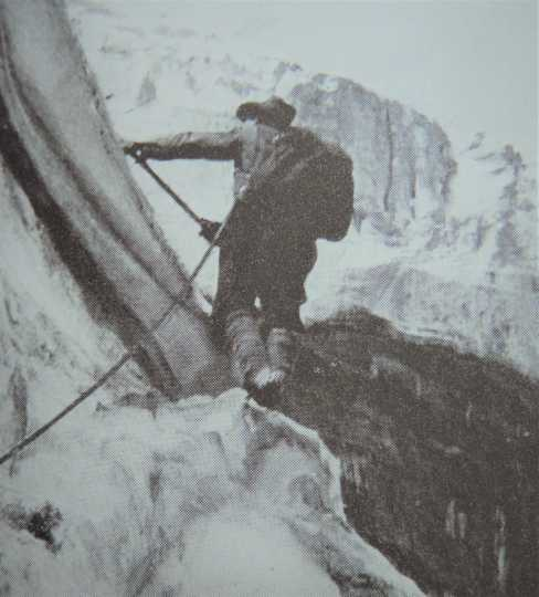 Picture of Cora Johnstone Best lead-climbing an ice route