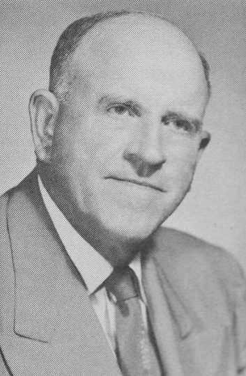 Black and white photograph of T. W. Thorson, ca. 1950s.