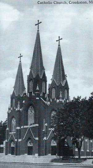 Cathedral of the Immaculate Conception, Crookston, Minnesota, date unknown.
