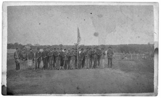 Photograph of the Ninth Minnesota Infantry, Company G