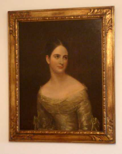 "Painting of a ""Miss Pearce"""