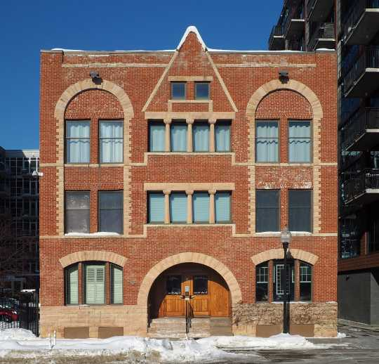 Image of Ida Dorsey's bordello at 212 Eleventh Avenue South, Minneapolis. Photograph by Wikimedia Commons user McGhiever, February 19, 2019. CC BY-SA 4.0