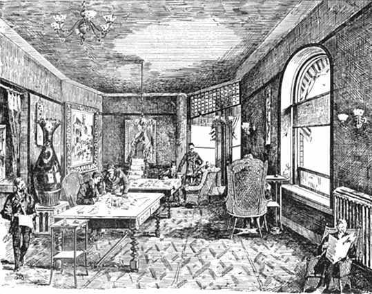 Minnesota Club interior