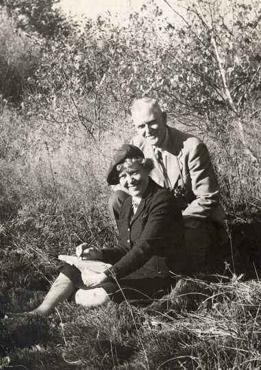 Francis Lee Jaques and Florence Page Jaques