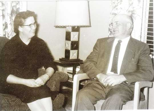Photograph of Lydia and Jacob Wiebe
