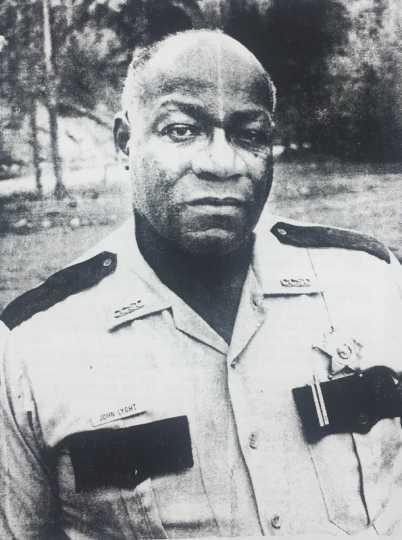 Photograph of Sheriff John Lyght, 1984