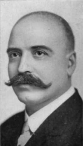 Black and white photograph of John L. Morrison, 1916.