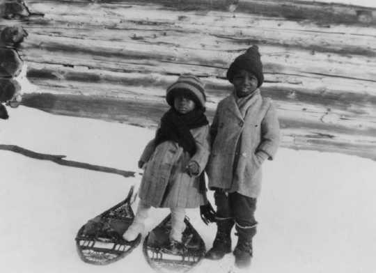 Photograph of John and Daniel Lyght