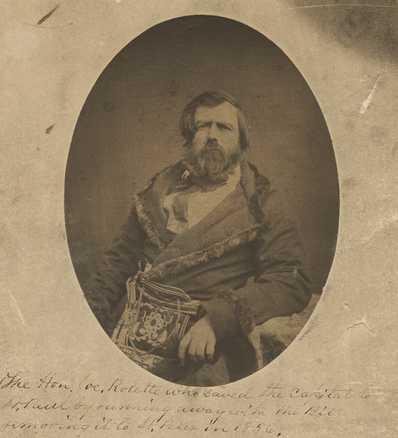 Joseph Rolette c. 1860.