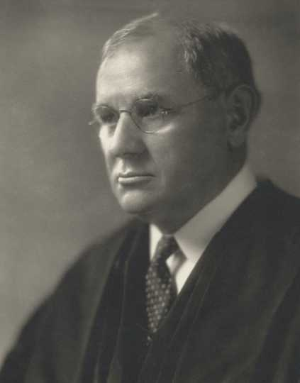 Black and white photograph of U.S. Supreme Court Justice Pierce Butler, 1930.