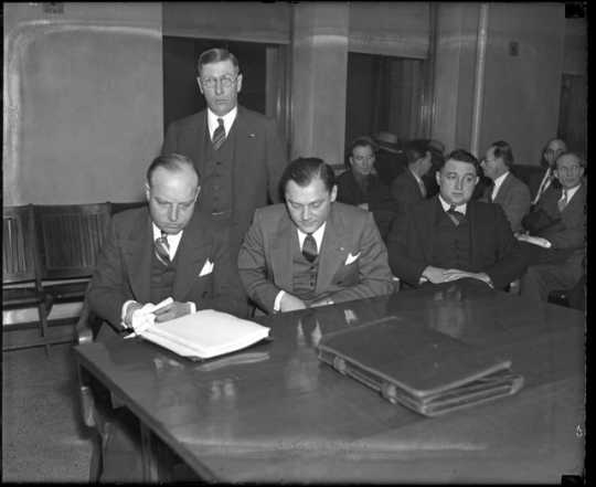 Isadore Blumenfeld (Kid Cann) on trial