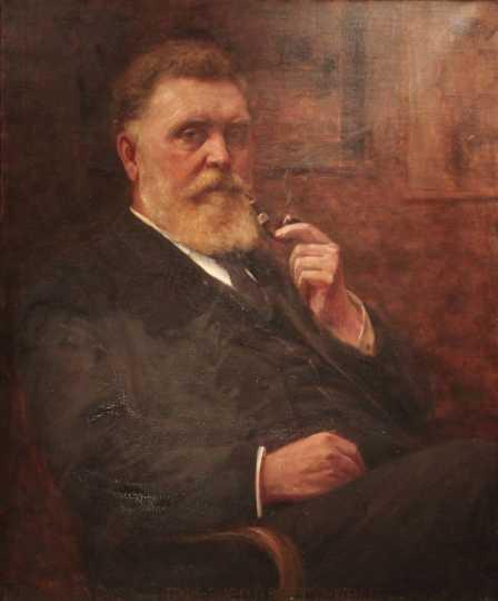 Portrait of Herbjorn Gausta