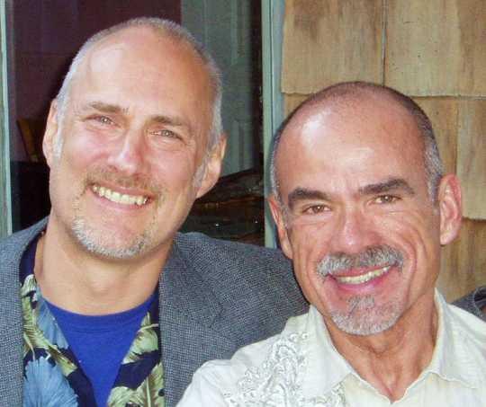 Alan Lessik and Rene Valdes