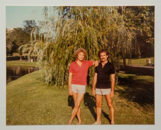 Bruce Brockway and Rene Valdes at Bde Maka Ska