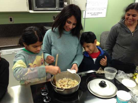 SILC cooking class