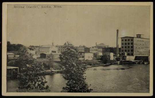 Pillsbury Lincoln Mill and the milling district, Anoka, Minnesota