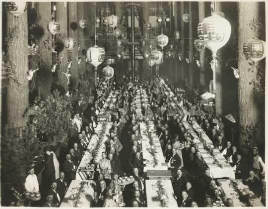 James J. Hill's seventy-fifth-birthday dinner