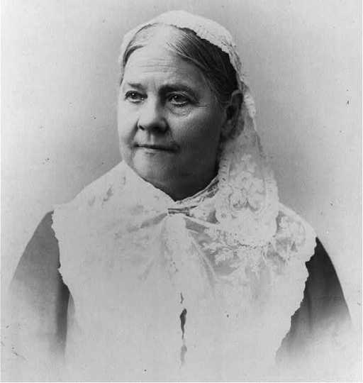 Lucy Stone (1818–1893).