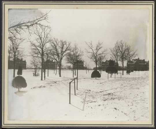 Anoka State Hospital complex, ca. 1910.