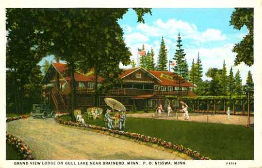 Grand View Lodge near Brainerd